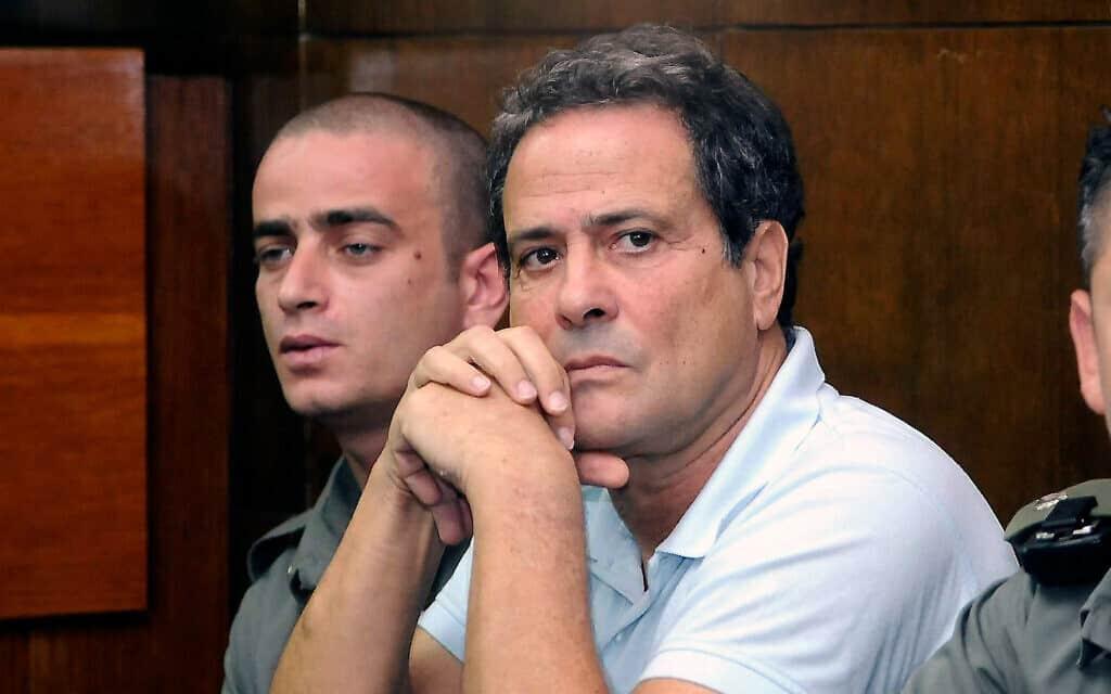דודו טופז בבית המשפט, ב-9 ביולי 2009 (צילום: יוסי זליגר/פלאש90)