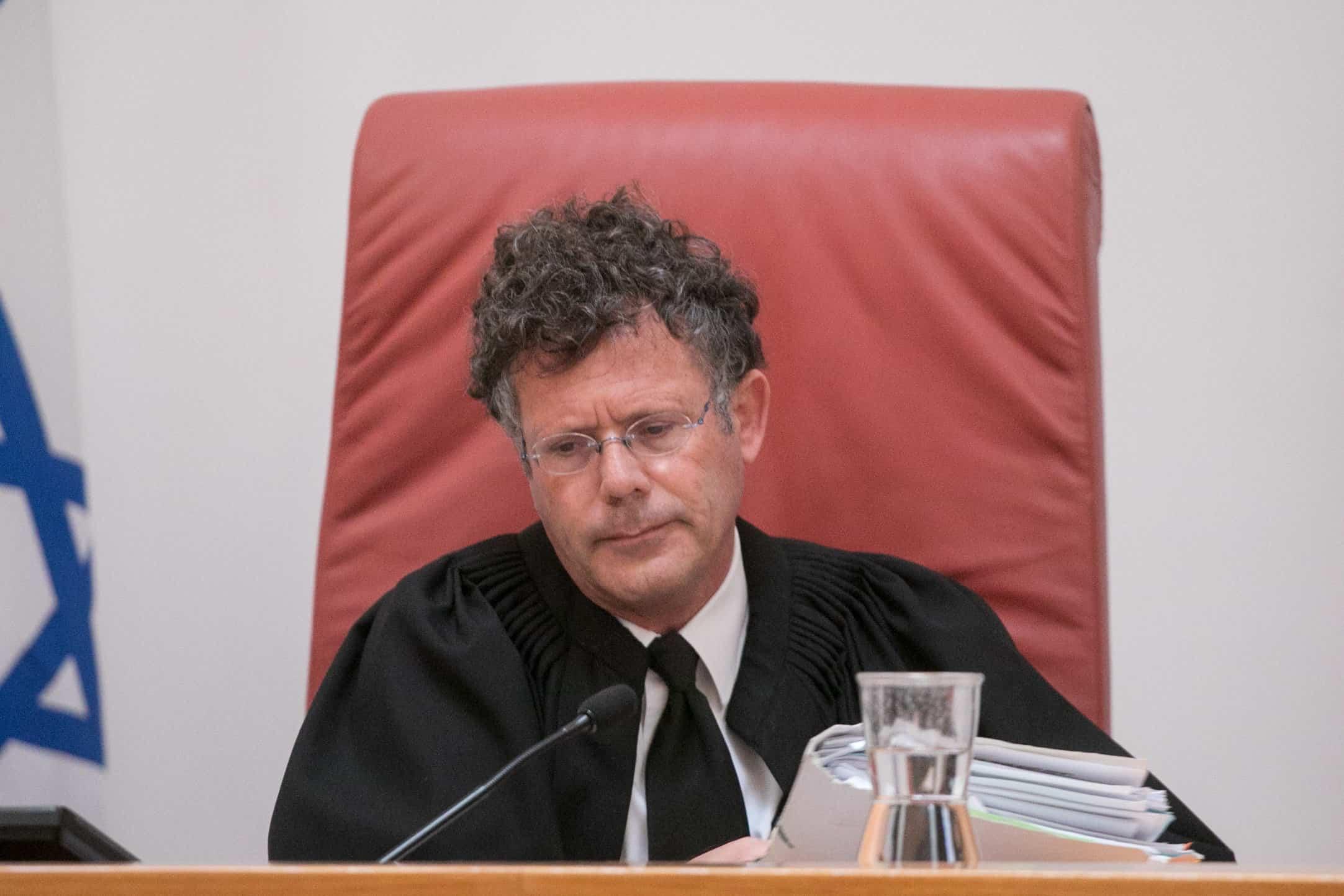שופט בית המשפט העליון יצחק עמית (צילום: מרים אלסטר/פלאש90)
