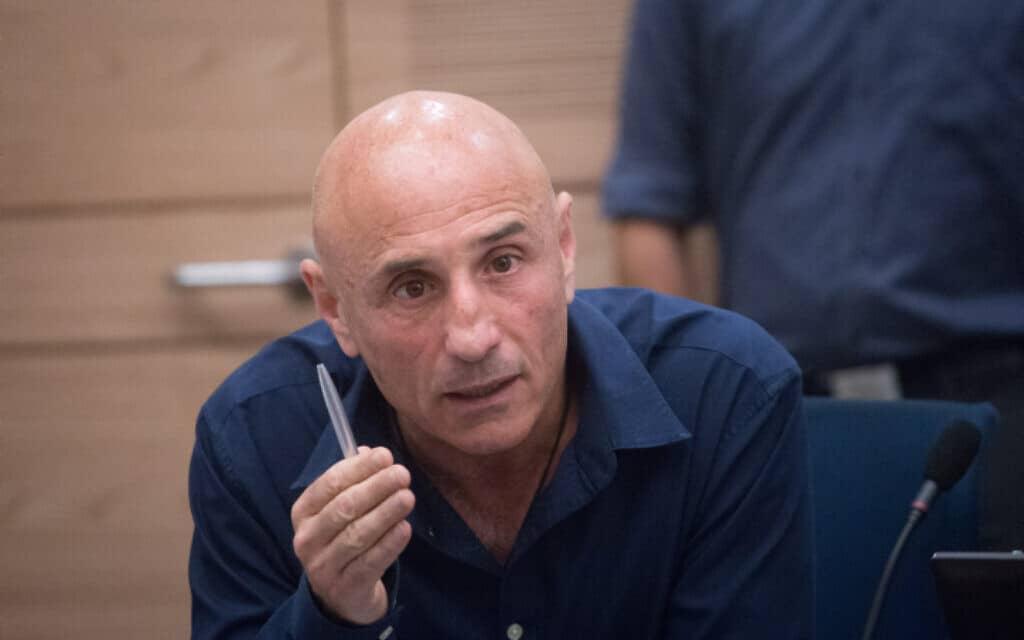 עפר שלח, יושב ראש ועדת הקורונה (צילום: מרים אלסטר, פלאש 90)