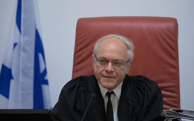שופט בית המשפט העליון ניל הנדל (צילום: יונתן זינדל/פלאש90)