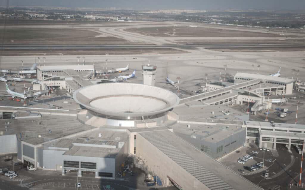 נמצל התעופה בן-גוריון (צילום: פלאש90)