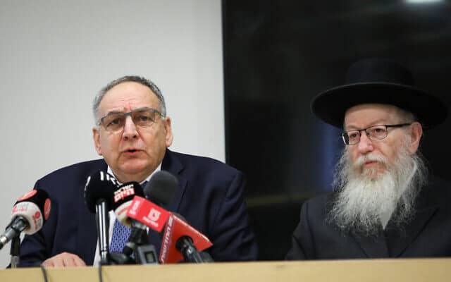 רוטשטיין (משמאל) וליצמן (צילום: פלאש 90)