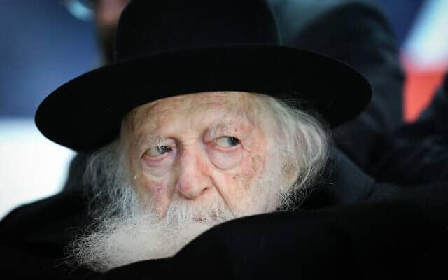 הרב חיים קנייבסקי (צילום: David Cohen/Flash90)