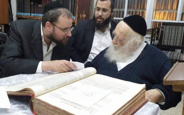 הרב חיים קנייבסקי וישראל כהן (צילום: הרב חיים קנייבסקי וישראל כהן)