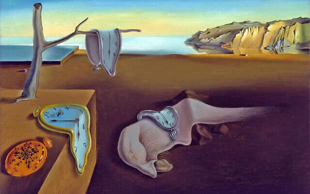 The Persistence of Time by Salvador Dali (צילום: MoMA)