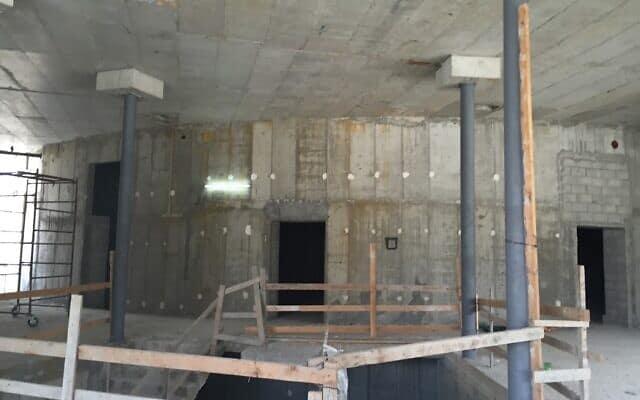 העבודות להקמת המוזיאון בלטרון