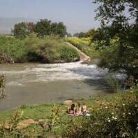נהר הירדן, סמוך לכפר בלום (צילום: יוסי זמיר / פלאש 90)
