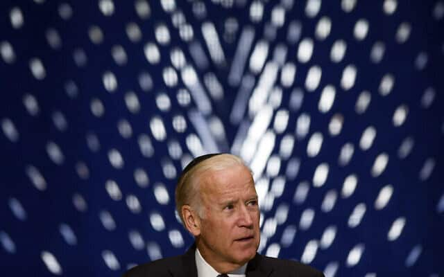 Peres Memorial Biden (צילום: AP Photo/Zach Gibson)
