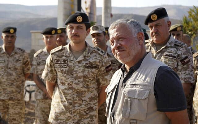 מלך ירדן עבדאללה השני. נובמבר 2019 (צילום: Yousef Allan/Jordanian Royal Court via AP)