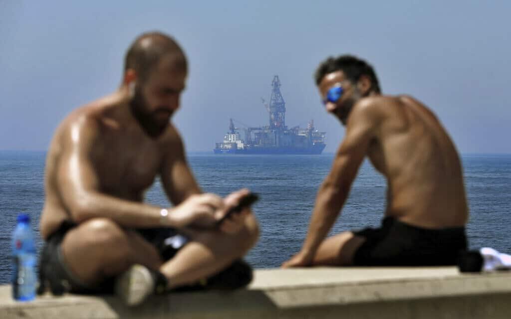 ימי ראשית הקיץ בלבנון, 15 במאי 2020 (צילום: AP Photo/Bilal Hussein)