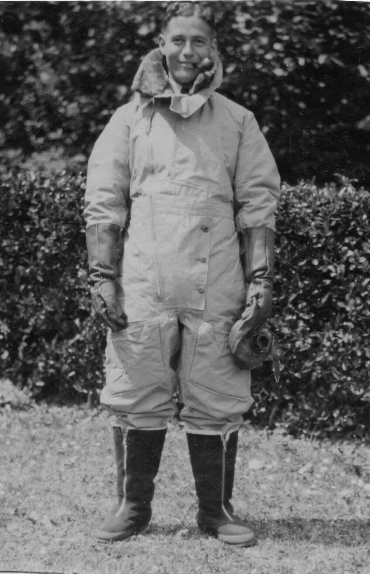 בזיל פלנסטיין (צילום: באדיבות מוזיאון ה-RAF)