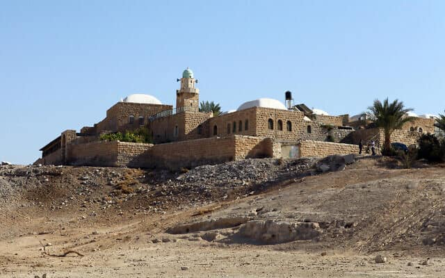 המסגד בנבי מוסא (צילום: אביר סולטן/פלאש90)