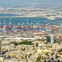 מפרץ חיפה (צילום: יניב נדב/פלאש90)