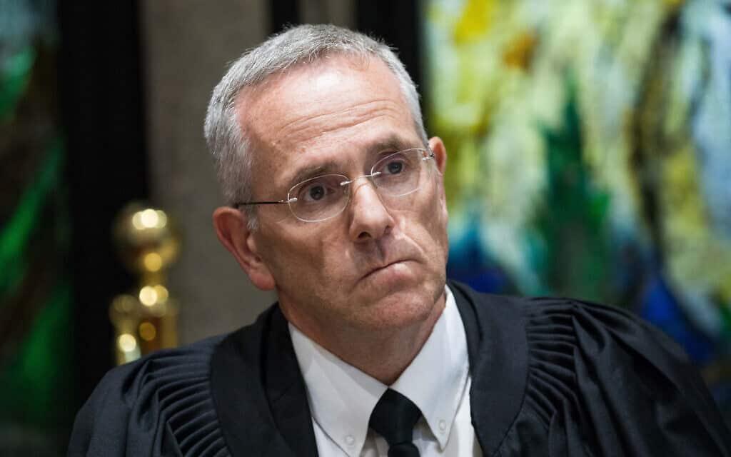 שופט בית המשפט העליון דוד מינץ (צילום: יונתן זינדל/פלאש90)