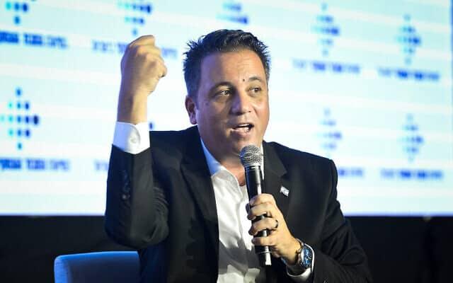 רועי כהן, נשיא להב (צילום: Flash90)