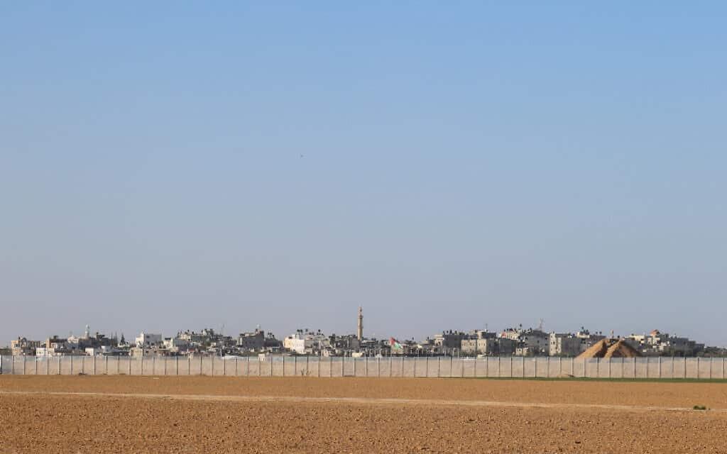 גבול ישראל עם רצועת עזה, ארכיון (צילום: פלאש 90)
