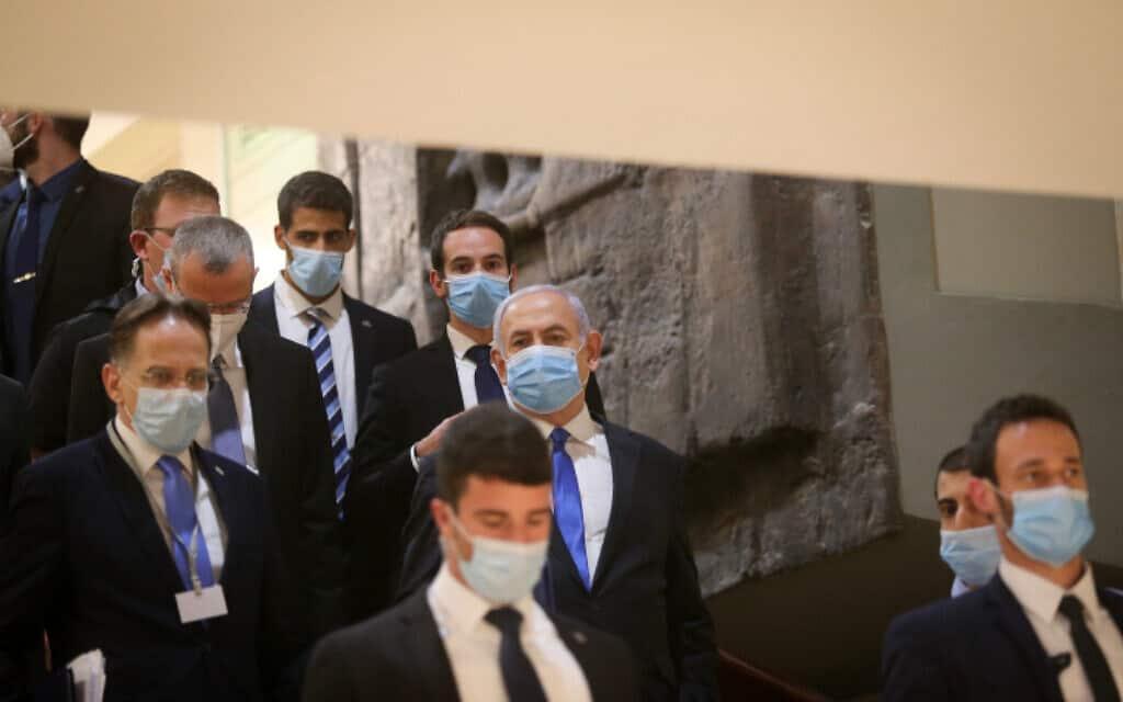 ראש הממשלה בנימין נתניהו ביום השבעת הממשלה (צילום: דוברות הכנסת, קובי גדעון)