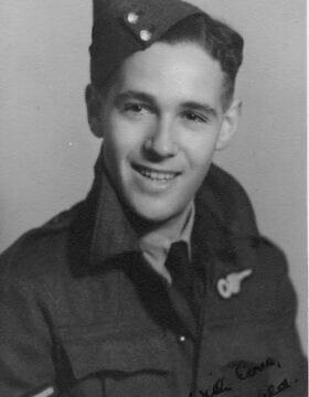 ג'רלד פלנסטיין (צילום: באדיבות מוזיאון ה-RAF)
