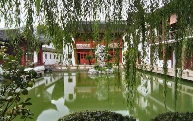מקדש קונפוציוס בשנגחאי (צילום: יפעת פרופר)