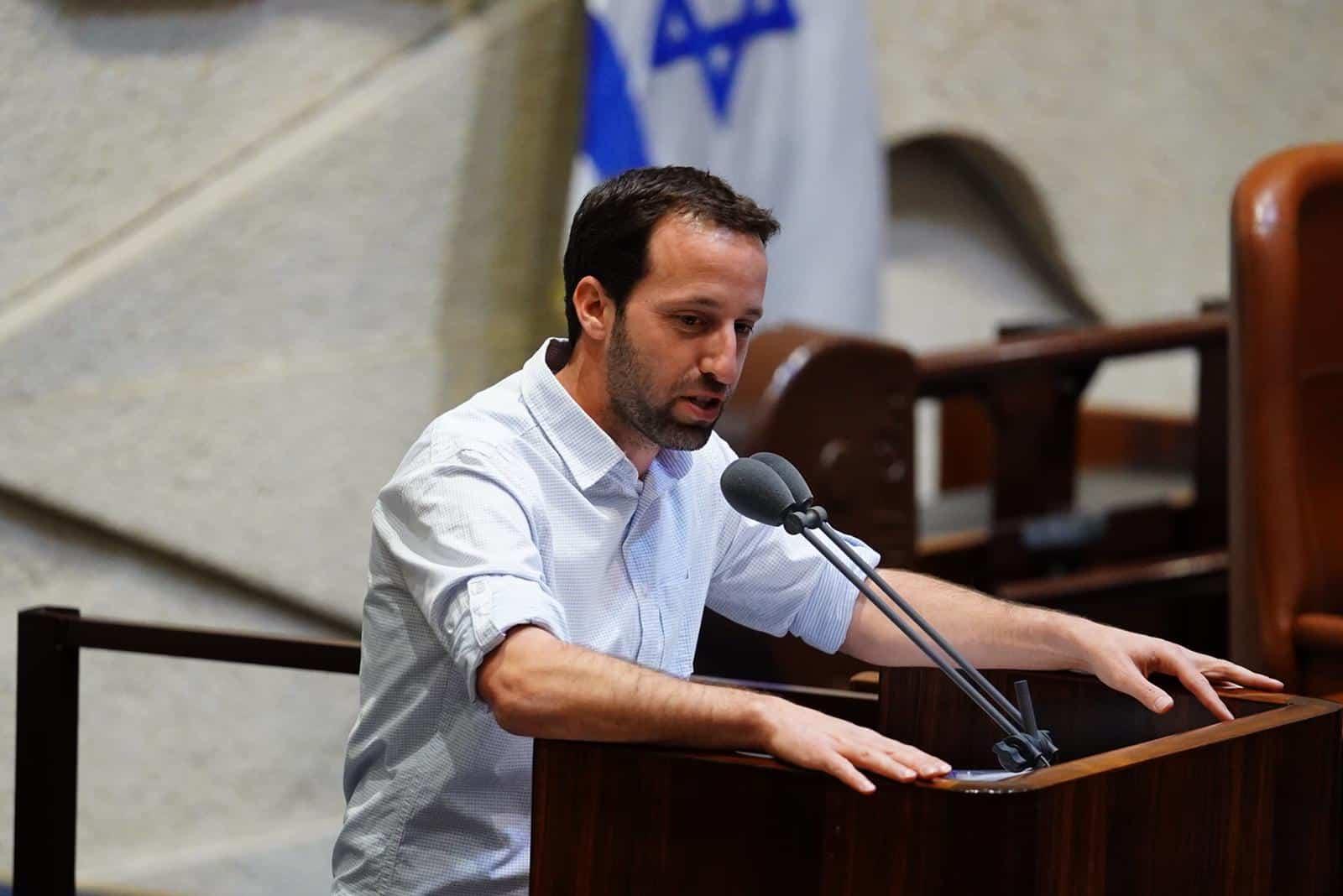איציק שמולי, מליאת הכנסת, 27 במאי 2020 (צילום: דוברות הכנסת - עדינה ולמן)
