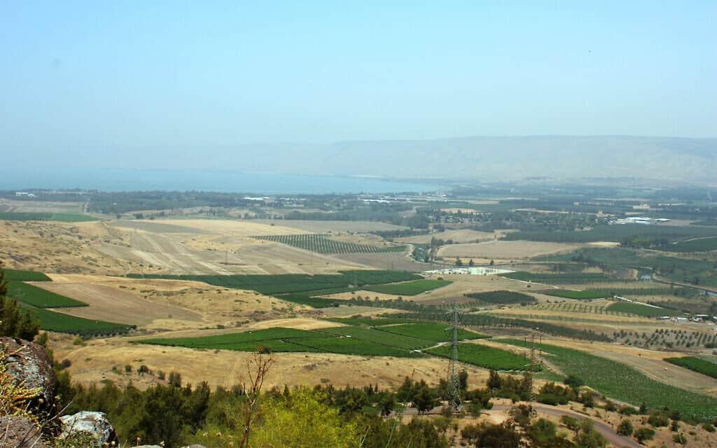 הנוף ממצפה לוי אשכול (צילום: שמואל בר-עם)
