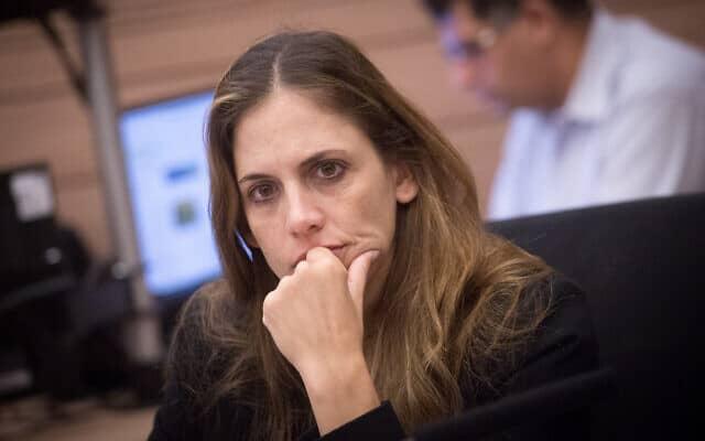 """מנכ""""לית משרד התחבורה קרן טרנר אייל (צילום: מרים אלסטר, פלאש 90)"""