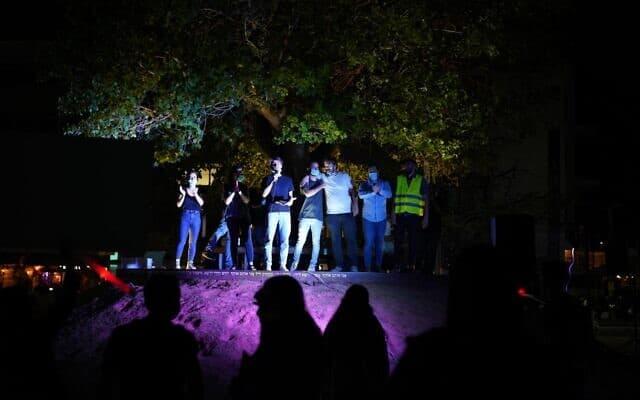 צילומים מהפגנת הסטודנטים (צילום: צילום: אור רוזנברג)