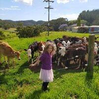 חוות הבידוד בניו זילנד (צילום: באדיבות המצולמים)