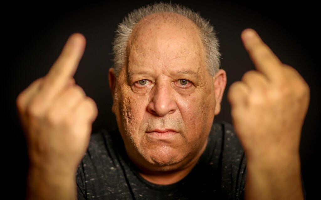 יצחק בקרינג, שהורשע ב-2009 בגין נהיגה בקלות ראש – וזוכה במשפט חוזר ב-2011 (צילום: שלומי יוסף)