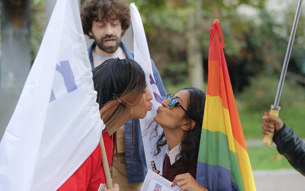 מחאה גאה ברומניה, אוקטובר 2019 (צילום: AP Photo/Vadim Ghirda)