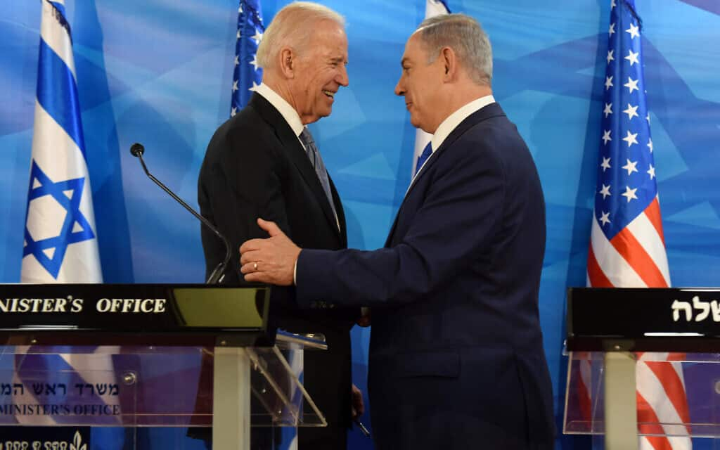 Mideast Israel Palestinians US (צילום: Debbie Hill, Pool via AP)