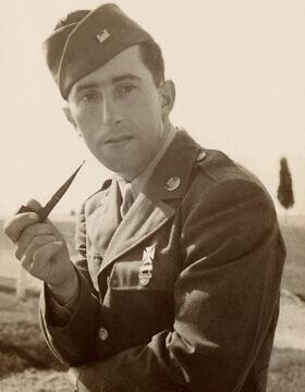 אריך סילברמן, אחד מדיירי מחנה קיצ'נר, התגייס לצבא ארצות הברית, נחת בנורמנדי ביום הפלישה והמשיך להילחם בכיוון מזרח עד לסיום המלחמה כעבור 11 חודשים (צילום: Courtesy/משפחתו של אריך סילברמן)