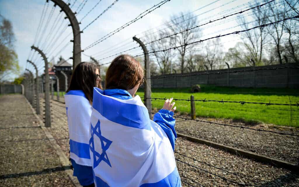 נוער יהודי במסע לפולין (צילום: Yossi Zeliger/FLASH90)