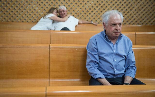 שאול אלוביץ' בבית המשפט העליון, ב-1 באוגוסט 2018 (צילום: הדס פרוש/פלאש90)