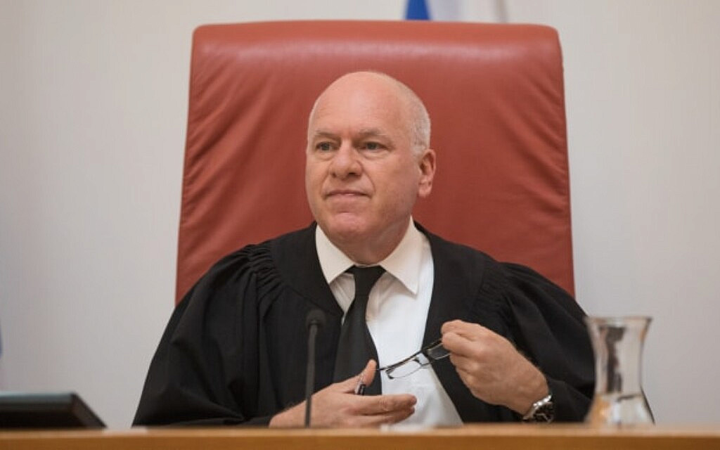 שופט בית המשפט העליון עוזי פוגלמן (צילום: יונתן זינדל, פלאש 90)