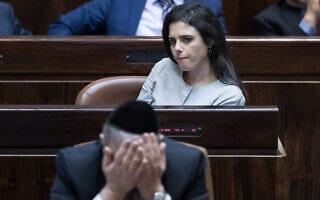 איילת שקד (צילום: Yonatan Sindel/Flash90)
