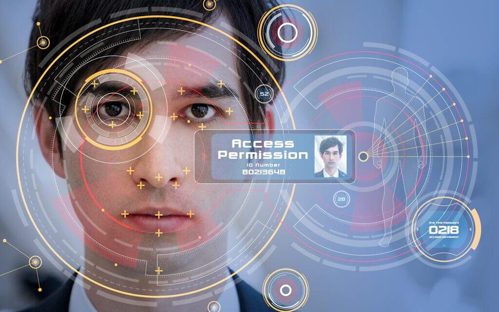 אילוסרטציה לטכנולוגיות זיהוי פנים (צילום: iStock/ metamorworks)