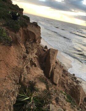 מצוק בית ינאי, צילום באדיבות מועצת עמק חפר