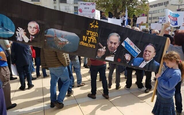 אוליביה ויסמין דה-לם בהפגנות