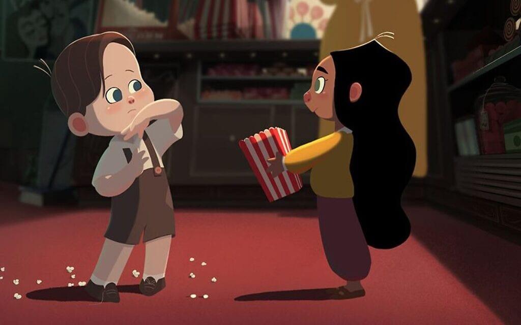 """קטע מהסרט """"להתאהב ברקס"""" (צילום: באדיבות מעין אנגלמן ואלירן פלד/ להתאהב ברקס)"""