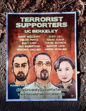 """בשם חופש הדיבור, אוניברסיטת ברקלי הקדישה שבוע שלם לנאומים וסדנאות של ה-אלט-רייט, הימין הרדיקלי. בבוקר א' בתשרי תשע""""ח, יום לפני תחילת הכנס, הופיעו פוסטרים של """"הפרופסורים הטרוריסטים"""" של ברקלי על כל עמוד ועץ רענן בקמפוס"""