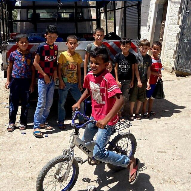 ילדי הכפר פסאיל בבקעת הירדן, יוני 2020 (צילום: ג'ייקוב מגיד)