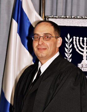 שופט בית המשפט המחוזי של תל אביב מגן אלטוביה (צילום: לשכת דוברות בתי המשפט בישראל)