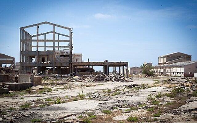 מפעל נטוש. צילום: עמותת צלול