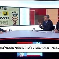 צילום מסך מראיון של אלי ציפורי בערוץ 20