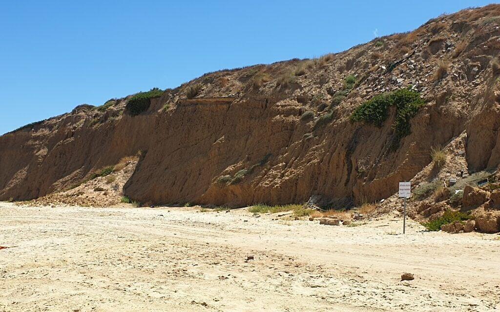 החוף הצפוני של אשקלון (צילום: אביב לביא)