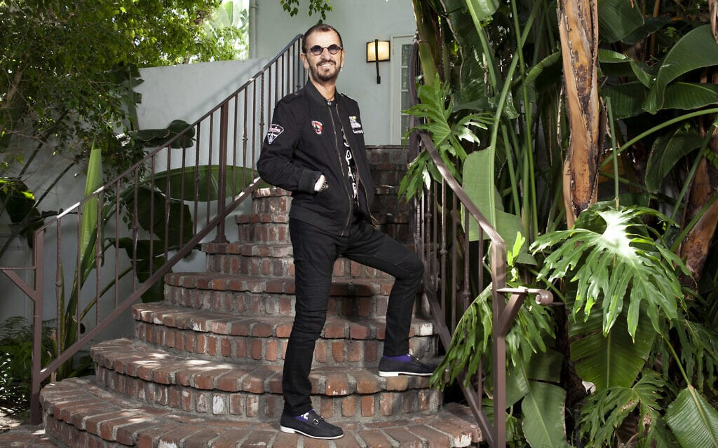 רינגו סטאר בביתו בלוס אנג'לס (צילום: Rebecca Cabage/Invision/AP)