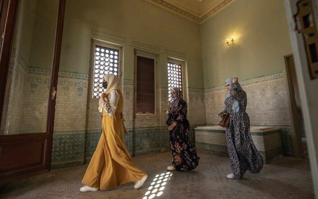 ארמון הברון במצרים, יוני 2020 (צילום: AP Photo/Nariman El-Mofty)