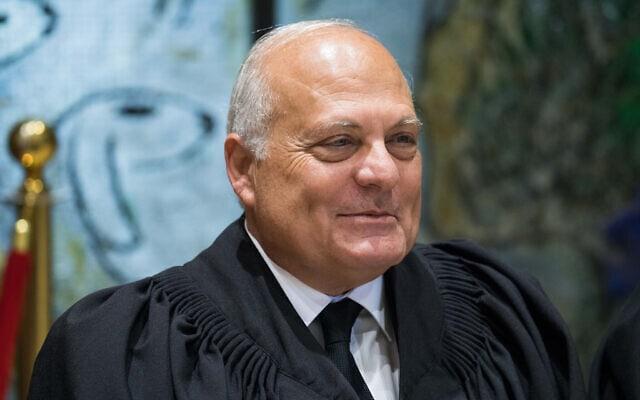 שופט בית המשפט העליון ג'ורג' קרא (צילום: יונתן זינדל/פלאש90)
