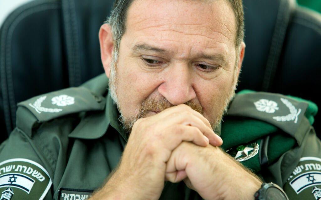 ניצב יעקב שבתאי, מפקד משמר הגבול (צילום: משה שי/פלאש90)